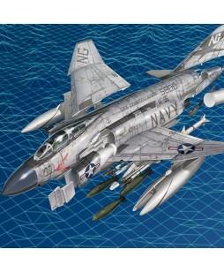Academy modelis F-4J SHOWTIME 100 1/72