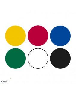 Creall  Basic color dažai 6x250ml
