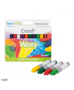 Creall Waxy vaškinės kreidelės 12 vnt