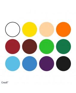 Creall Oily aliejinės pastelės (12 spalvų)