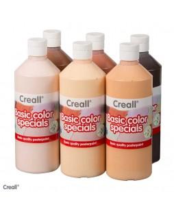 Creall Basic color specials dažų rinkinys 6x500ml
