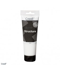 Creall studio akrilo terpė šiurkšti struktūra, 250 ml