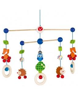 Goki kabantis žaislas Miško gyvūnai