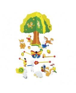 Goki kabantis žaislas Namas medyje