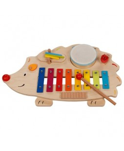 Goki muzikos instrumentai Ežiukas muzikantas