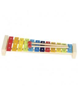 Goki muzikos instrumentas vaikams Ksilofonas, 12 garsų