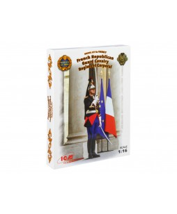 ICM modelis French Republican Guard Cavalry Regiment Corporal 1/16