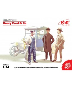 ICM Henry Ford & Co (3 figures) 1/24
