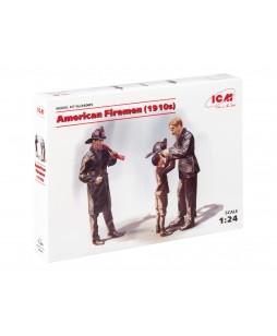 ICM American Firemen (1910s) (3 figures) 1/24