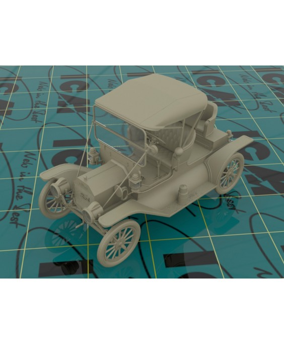 ICM modelis 1912 Commercial Roadster, American Car 1/24