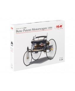 ICM modelis Benz Patent-Motorwagen 1886 1/24
