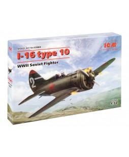 ICM modelis I-16 type 10, WWII Soviet Fighter 1/32