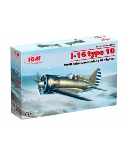ICM modelis I-16 type 10, WWII China Guomindang AF Fighter 1/32