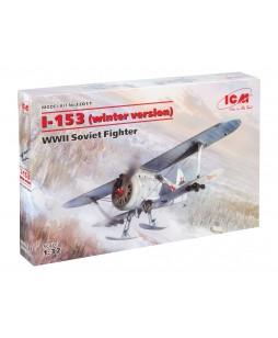 ICM modelis I-153 (winter version), WWII Soviet Fighter 1/32