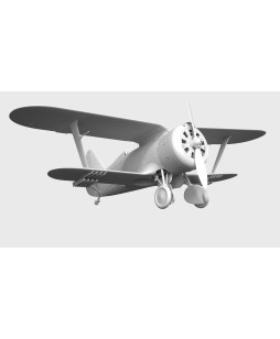 ICM modelis I-153 with Soviet Pilots (1939-1942) 1/32