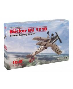ICM modelis Bücker Bü 131B, German Training Aircraft 1/32