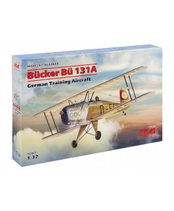 ICM modelis Bücker Bü 131A, German Training Aircraft 1/32