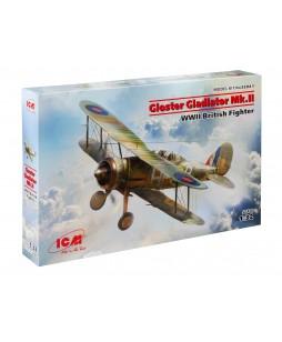 ICM modelis Gloster Gladiator Mk.II, WWII British Fighter 1/32