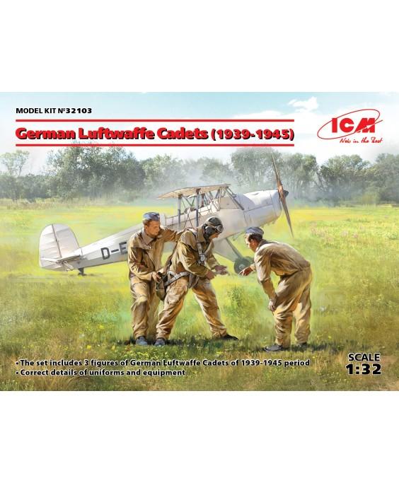 ICM German Luftwaffe Cadets (1939-1945) (3 figures) 1/32