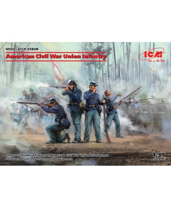 ICM American Civil War Union Infantry 1/35
