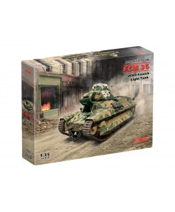 ICM modelis FCM 36, WWII French Light Tank 1/35