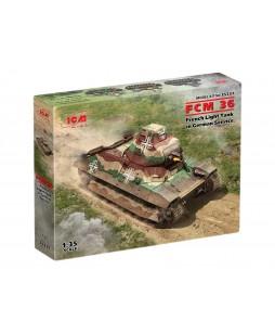 ICM modelis FCM 36 French Light Tank in German Service 1/35