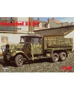 ICM modelis Henschel 33 D1, WWII German Army Truck 1/35