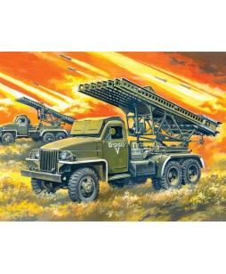 ICM modelis BM-13-16N, WWII Soviet Multiple Launch Rocket System 1/35