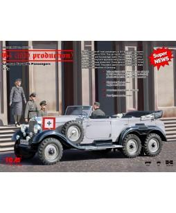 ICM modelis G4 (1939 production), German Car with Passengers (4 figures) 1/35