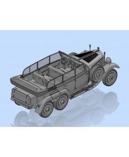 ICM modelis G4 (Kfz.21), WWII German Staff Car 1/35