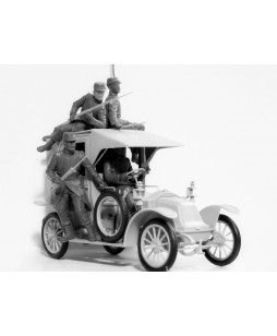 ICM modelis Battle of the Marne (1914), Taxi car with French Infantry 1/35
