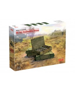 ICM modelis RS-132 Ammunition Boxes 1/35
