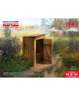 ICM modelis WC Field Toilet 1/35