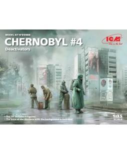 ICM Chernobyl4. Deactivators (4 figures) 1/35