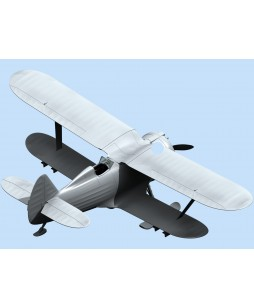 ICM modelis I-153, WWII Soviet Biplane Fighter (winter version) 1/48