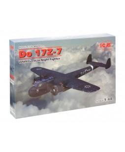 ICM modelis Do 17Z-7, WWII German Night Fighter  1/48
