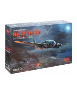 ICM modelis He 111H-20, WWII German Bomber 1/48