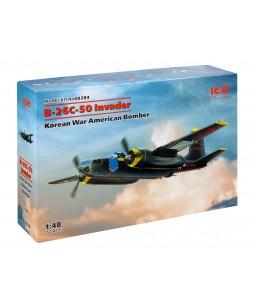 ICM modelis B-26С-50 Invader, Korean War American Bomber 1/48