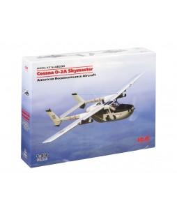 ICM modelis Cessna O-2A Skymaster, American Reconnaissance Aircraft 1/48
