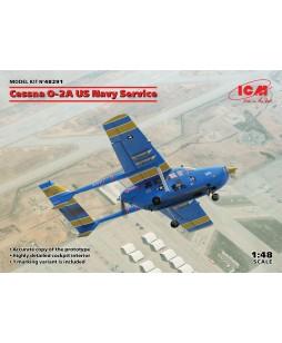 ICM modelis Cessna O-2A US Navy Service 1/48