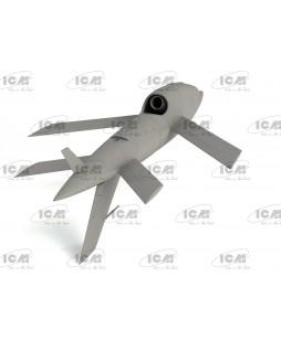 ICM modelis BQM-34А (Q-2C) Firebee US Drone 1/48