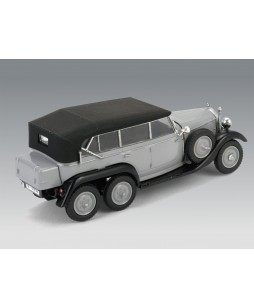 ICM modelis G4 (1935 production) Soft Top, WWII German Staff Car, snap fit/no glue 1/72