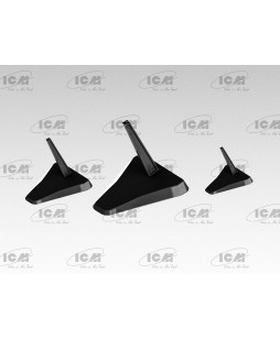 ICM modelis Aircraft Models Stands (Black Edition)
