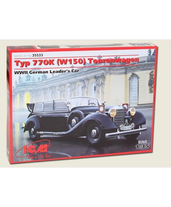 ICM modelis 770K (W150) Tourenwagen, WWII German Leaders' Car 1/35