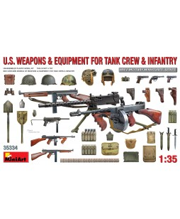 MiniArt  U.S.Weapons, Equipment for Tank Crew Infantry 1/35