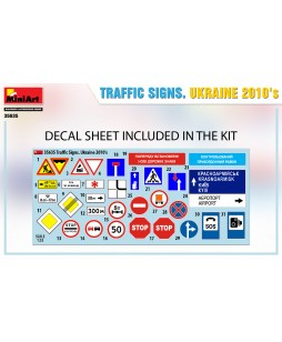 MiniArt  Traffic Signs.Ukraine 2010S 1/35