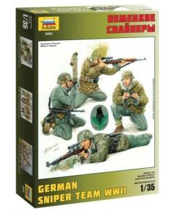 Zvezda German Sniper Team 1/35