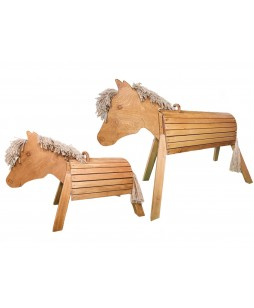 Eduplay medinis arklys, 80cm