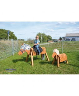 Eduplay medinis arklys,50 cm.