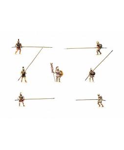 Zvezda istorinės miniatiūros Makedoniečių ietininkai 1/72